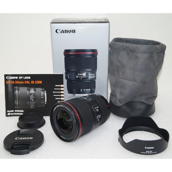 Canon 一眼レフ用レンズ EF 16-35mm f/4L IS USM