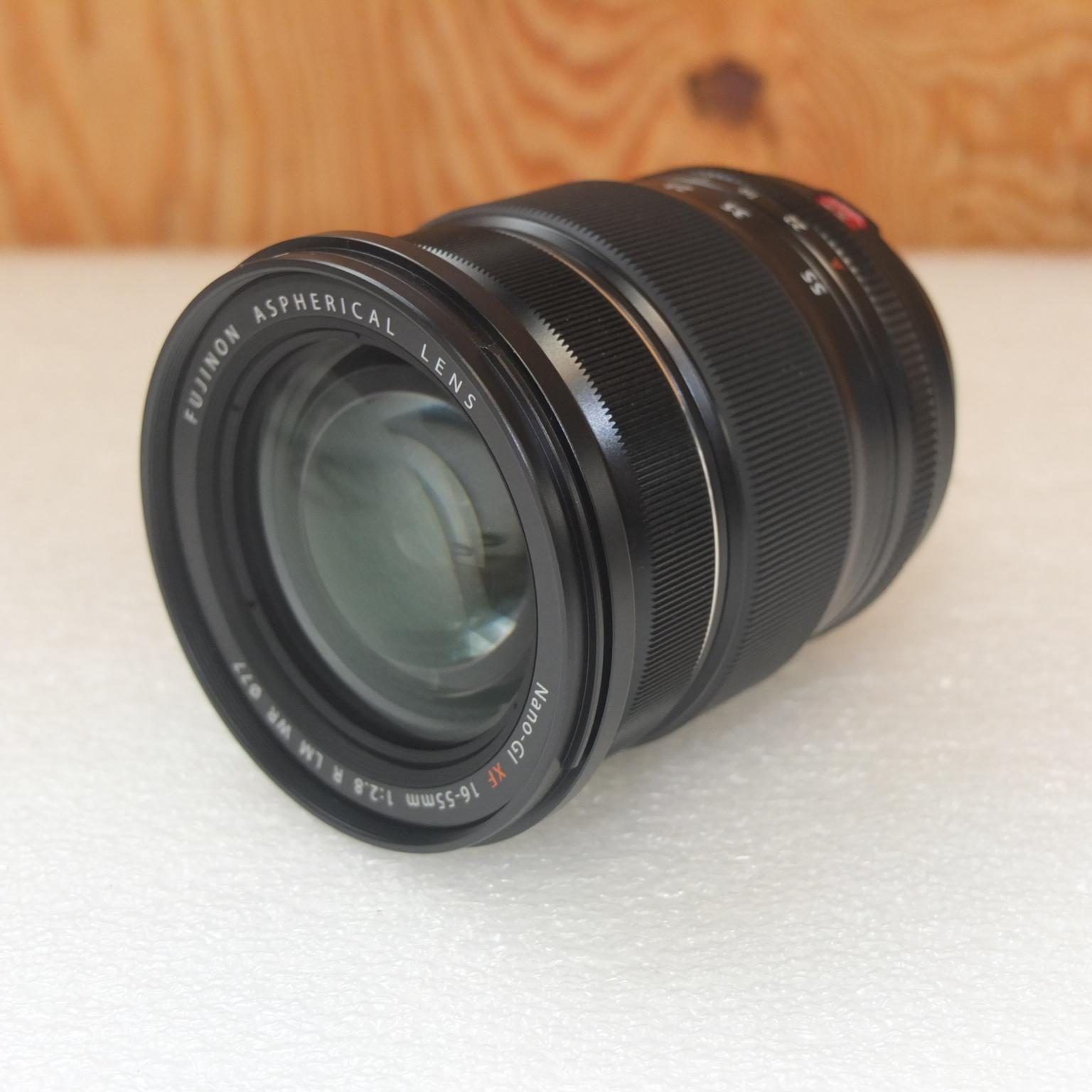 富士フィルム 一眼カメラ用レンズ Nano-GI XF 16-55mm 1:2.8 R LM WR