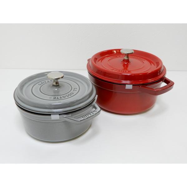 LA COCOTTE(ラ ココット) STAUB(ストウブ) 両手ホーロー鍋 フランス製