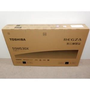 4Kチューナー内蔵 TOSHIBA REGZA 55M530X 4K液晶テレビ 55V型