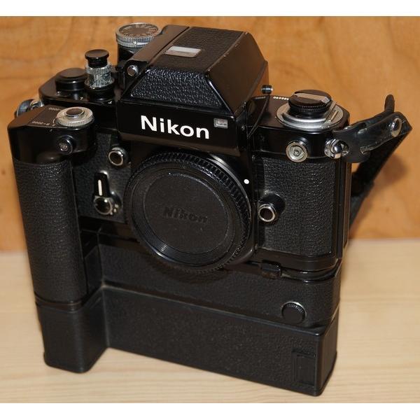 Nikon カメラ F2 + DP-1 + MD-3 + MB-2