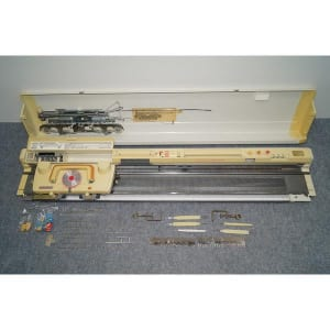 SILVER REED シルバーリード 編み機 SK-370 パンチカード カンタンファイン