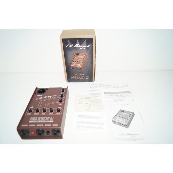 L.R.BAGGS ダイレクトボックス Para Acoustic D.I. 5BAND EQ/DIRECT BOX 正規輸入品
