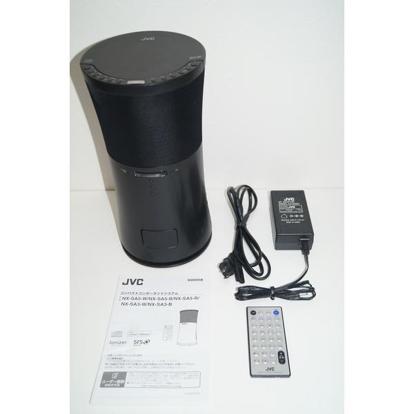 JVC コンパクトコンポーネントシステム NX-SA5-B