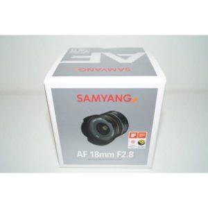 SAMYANG AF 18mm F2.8 一眼レフ カメラ用 レンズ AF 18/2.8 FE for SONY