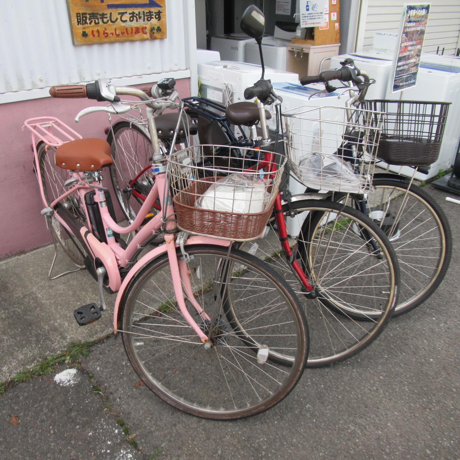 電動アシスト自転車入荷しております