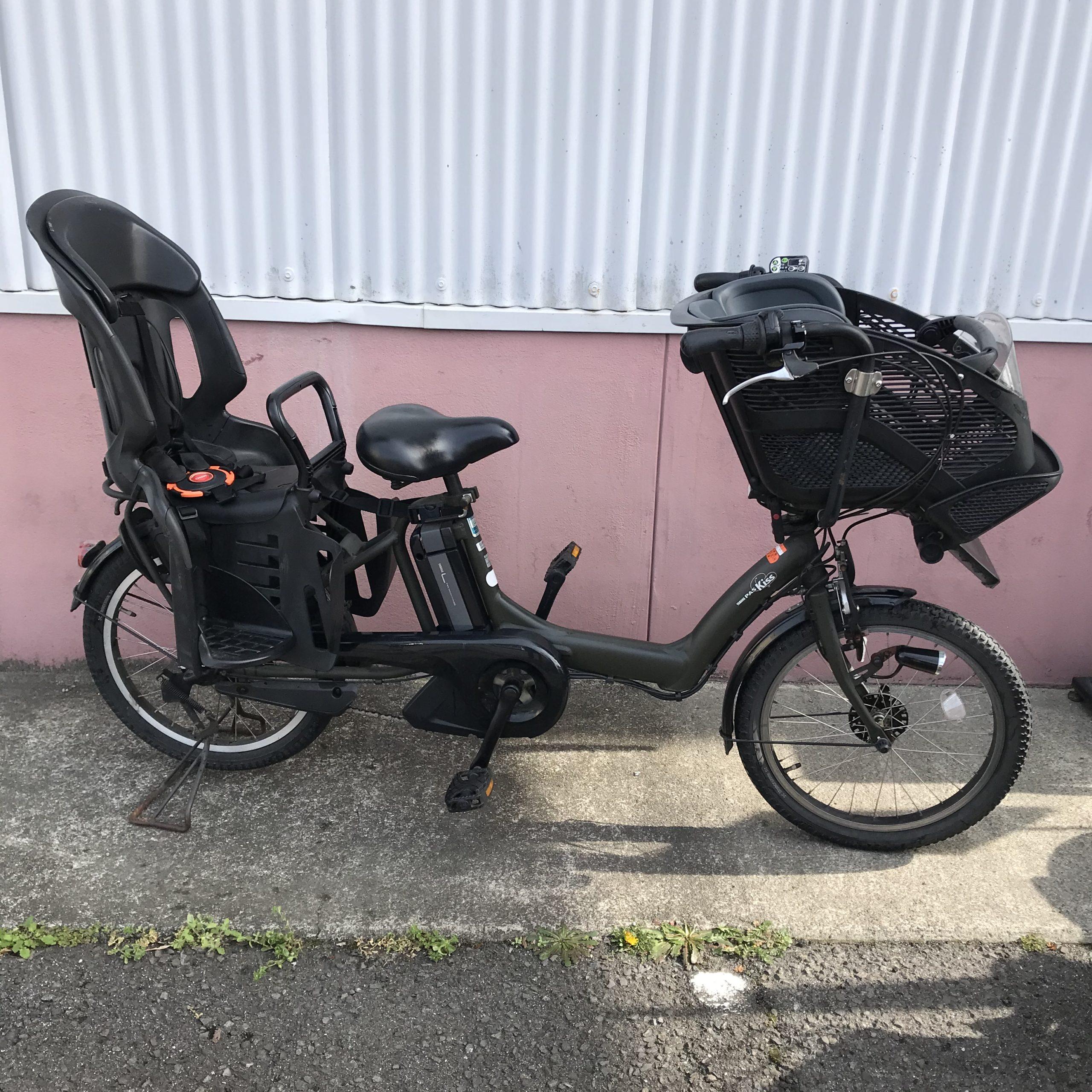 子供載せ電動アシスト自転車 YAMAHA PAS KISS Mini