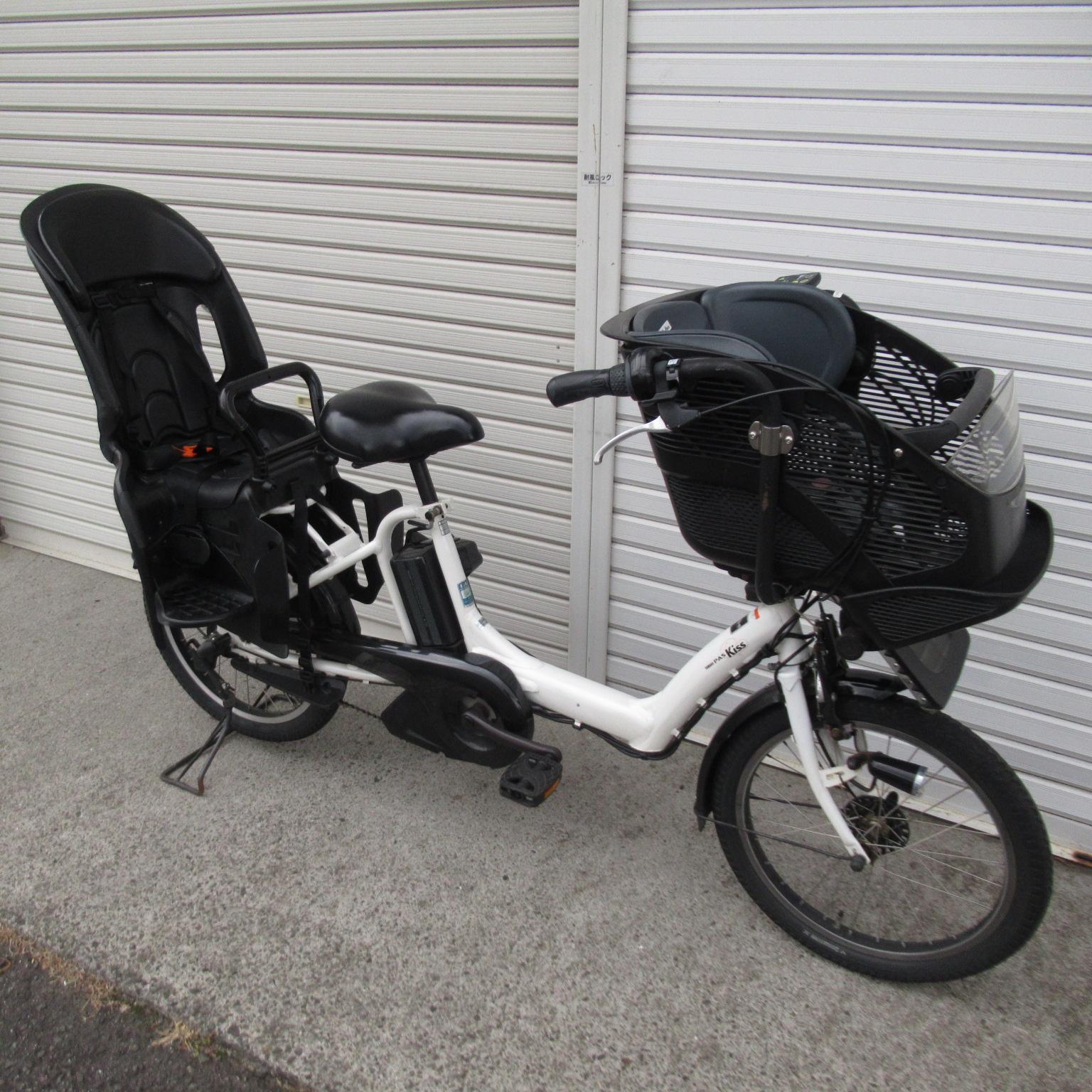 子供乗せ電動アシスト自転車 YAMAHA PAS kiss mini