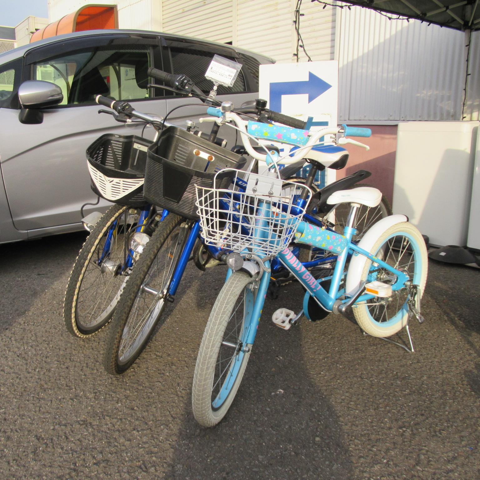 子供用自転車入荷しました