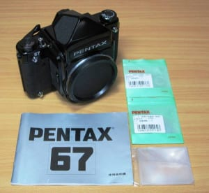 PENTAX 67 ボディ